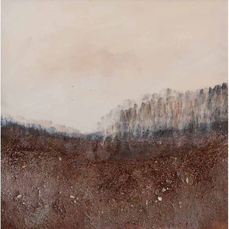 Earthlines No. 3 painting by Nigel Skinner