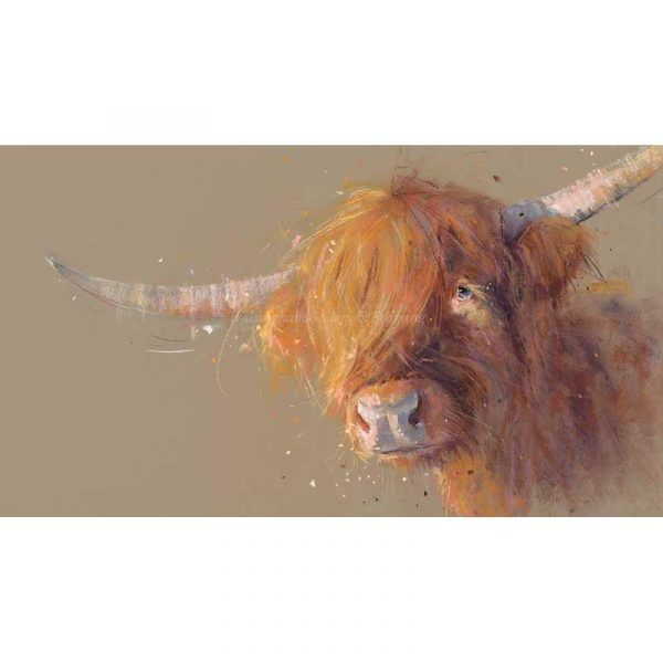 Limited edtion print 'Big Softy' by Nicky Litchfield