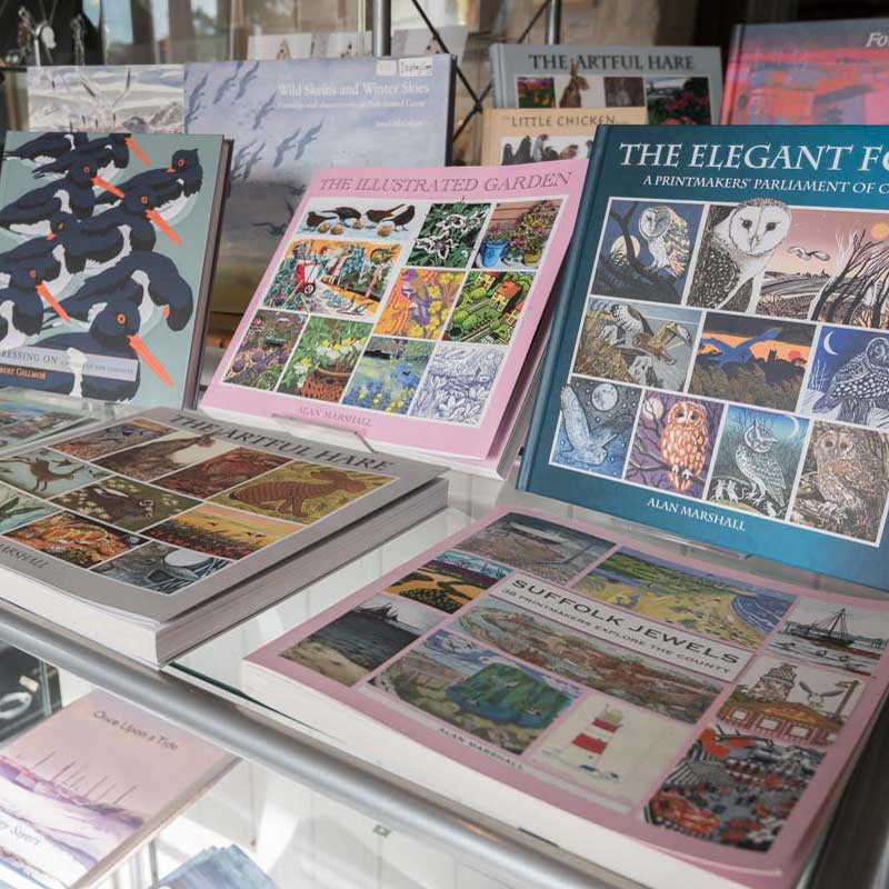 art books at Walsingham Gallery and Framing