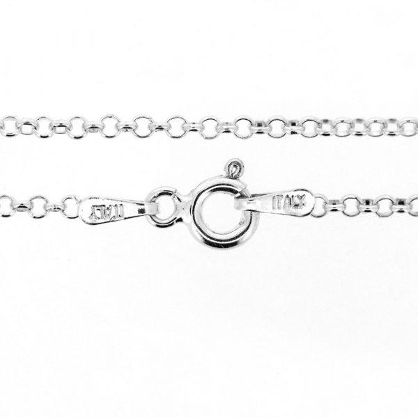 Sterling silver belcher chain