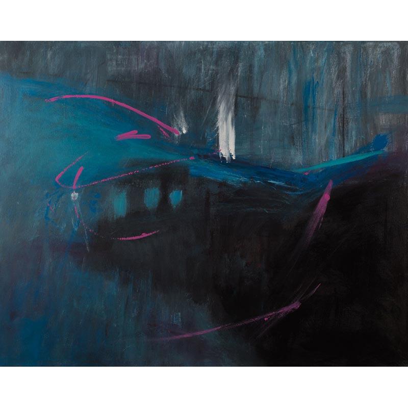painting 'marsh hide' by carole ann grace
