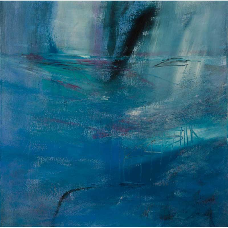 painting 'where waters flow' by carole ann grace