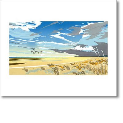 Greeting card of 'Holkham' by Colin Moore