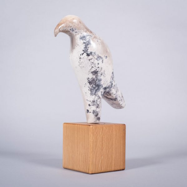 Ceramic sculpture of 'The Hunter' by Carol Pask, alternative view 1