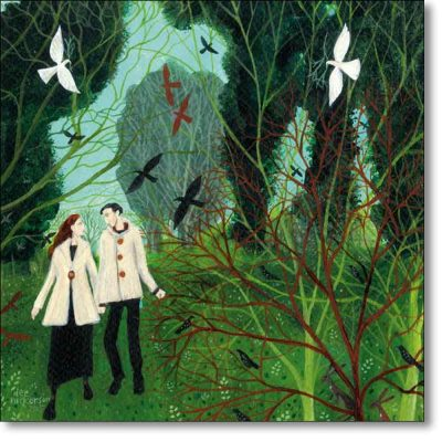Greeting card of 'Two Of A Kind' by Dee Nickerson