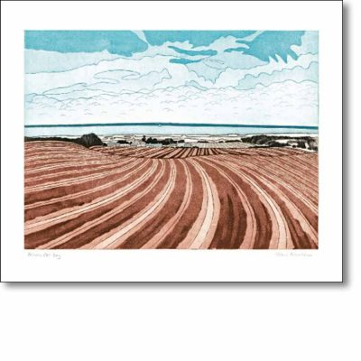 Greeting card of 'Brancaster Bay' by John Brunsdon