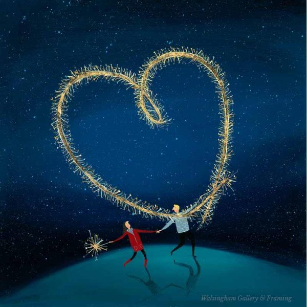 Limited edition print 'Sparkly Love' by Jenni Murphy