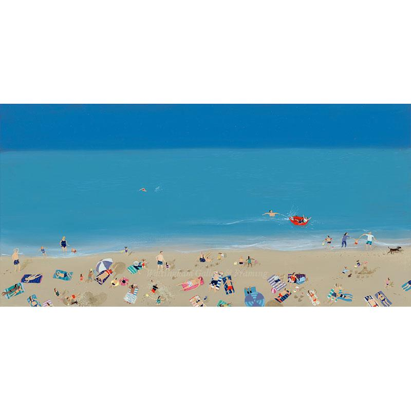 Limited edition print 'The Red Dinghy' by Jenni Murphy