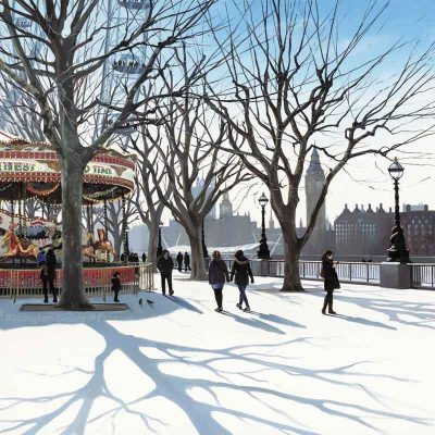 Limited edition print 'Carousel' by Jo Quigley