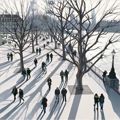 Limited edition print 'Winter Light' by Jo Quigley