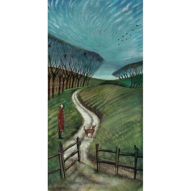 Limited edition print 'Mackerel Sky' by Joe Ramm