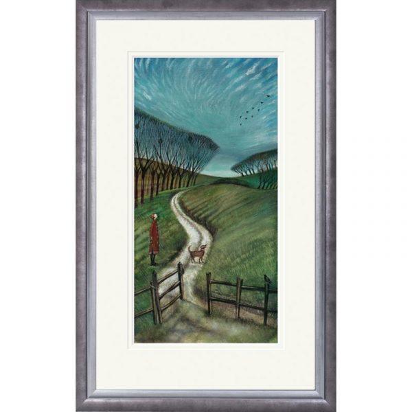 Framed limited edition print 'Mackerel Sky' by Joe Ramm