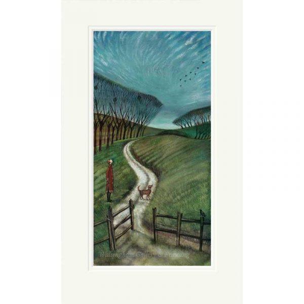 Mounted limited edition print 'Mackerel Sky' by Joe Ramm