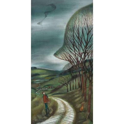 Limited edition print 'Woodland Walk' by Joe Ramm