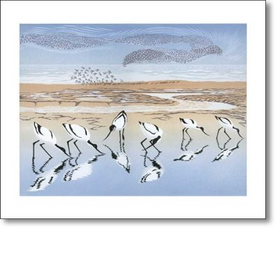 Greeting card of 'Time and Tide' by Niki Bowers