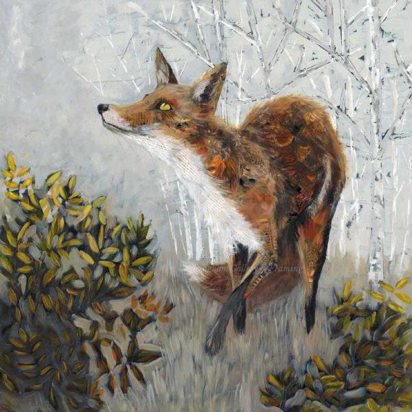 Limited edition print 'Fox' by Nicola Hart