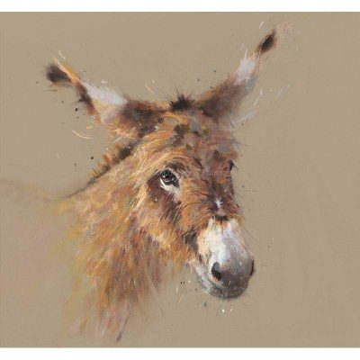 Limited edition print 'Gentle Jack' by Nicky Litchfield