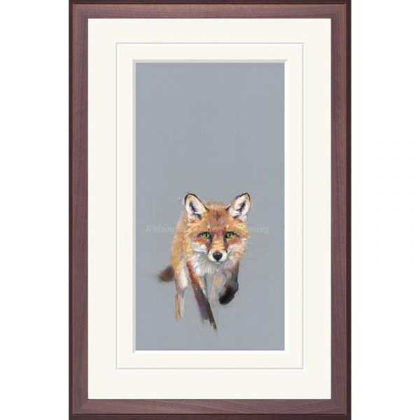 Framed limited edition print 'Here Comes Trouble' by Nicky Litchfield