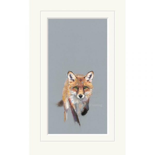 Mounted limited edition print 'Here Comes Trouble' by Nicky Litchfield