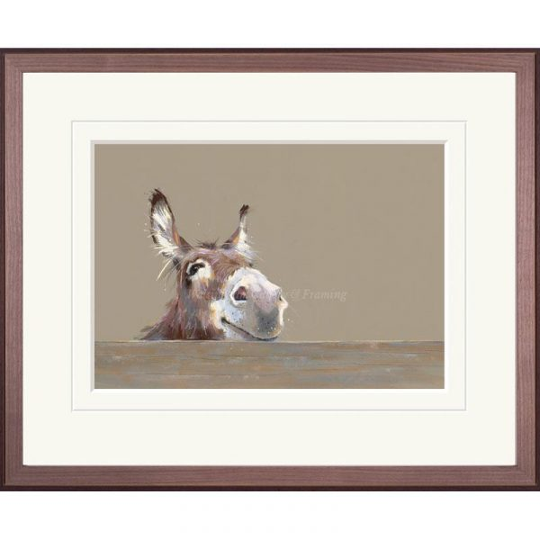 Framed limited edition print 'Mr Freckles' by Nicky Litchfield