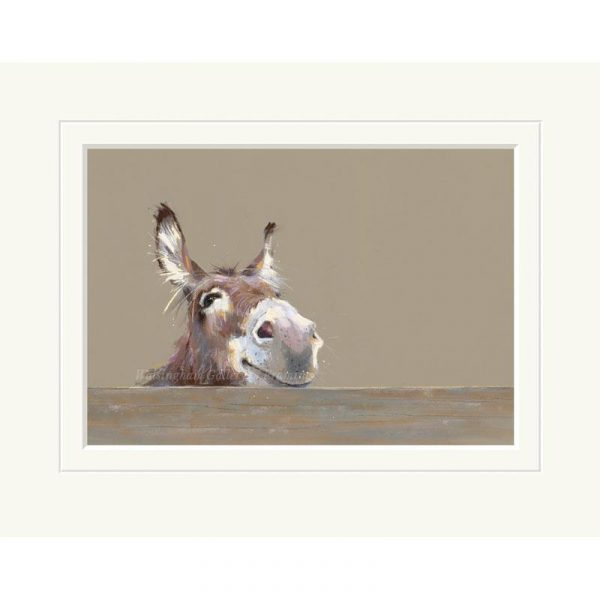 Mounted limited edtion print 'Mr Freckles' by Nicky Litchfield