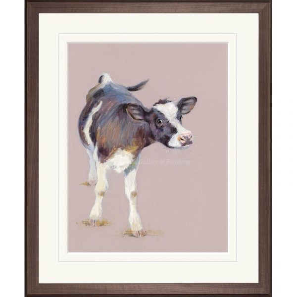 Framed limited edition print 'Nosy Nellie' by Nicky Litchfield