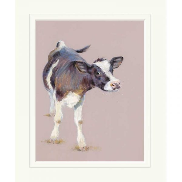 Mounted limited edition print 'Nosy Nellie' by Nicky Litchfield