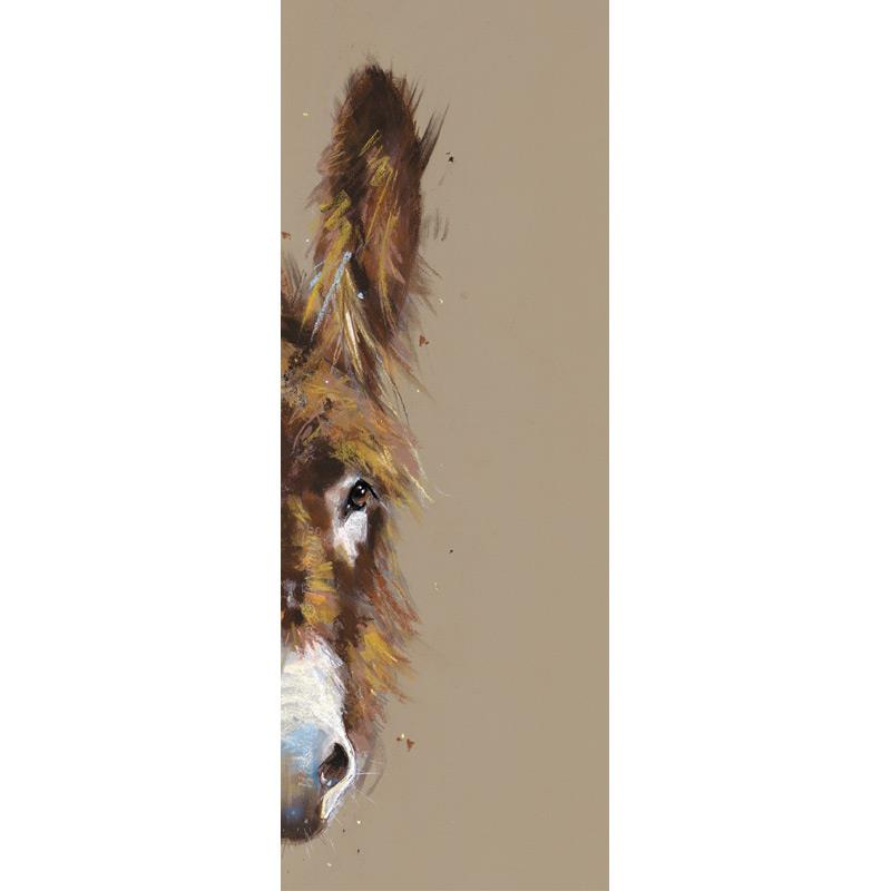 Limited edition print 'Peeping Donkey' by Nicky Litchfield