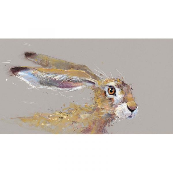 Limited edition print 'Sorry Must Dash' by Nicky Litchfield