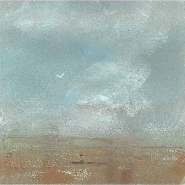 Monotype 'Solitude' by Sarah Bays