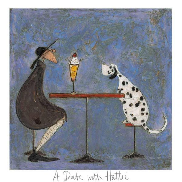 Limited edition print 'A Date with Hattie' by Sam Toft