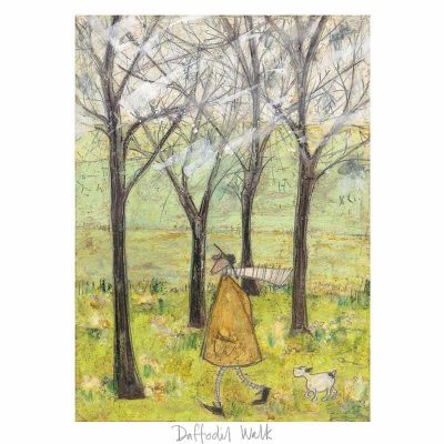 Limited edition print 'Daffodil Walk' by Sam Toft