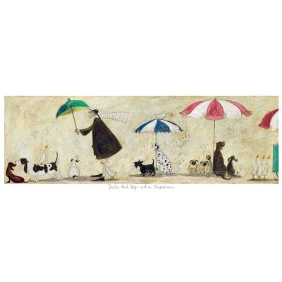 Limited edition print 'Ducks, Mad Dogs and an Englishman' by Sam Toft