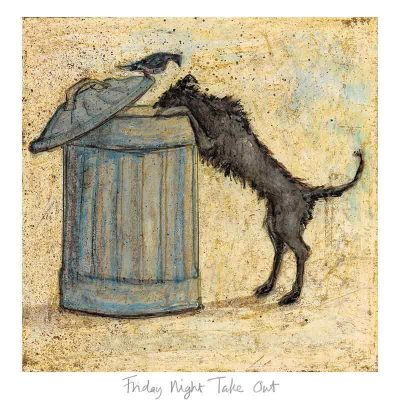 Limited edition print 'Friday Night Take Out' by Sam Toft