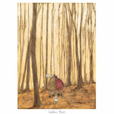 Limited edition print 'Goldern Years' by Sam Toft