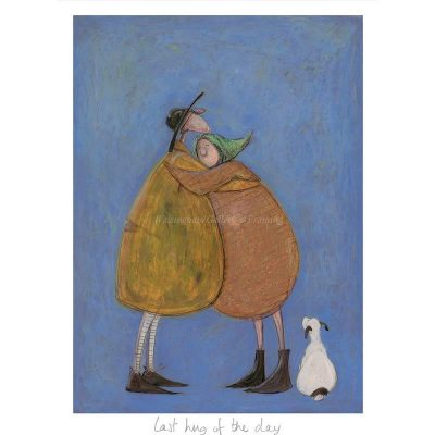 Limited edition print 'Last Hug of the day' by Sam Toft