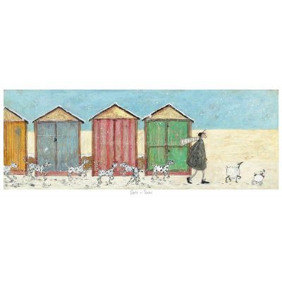 Limited edition print 'Spots 'n' Flakes' by Sam Toft