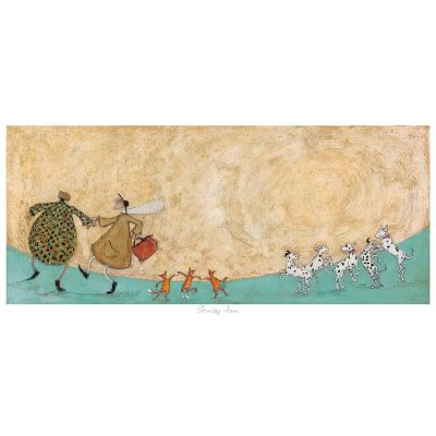 Limited edition print 'Stictly Fun' by Sam Toft