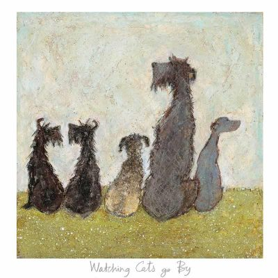 Limited edition print 'Watching Cats go By' by Sam Toft