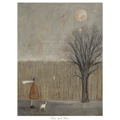 Limited edition print 'Wax and Wane' by Sam Toft