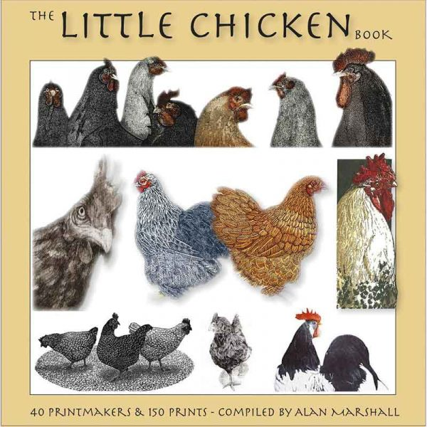 Book, The Little Chicken Book by Alan Marshall