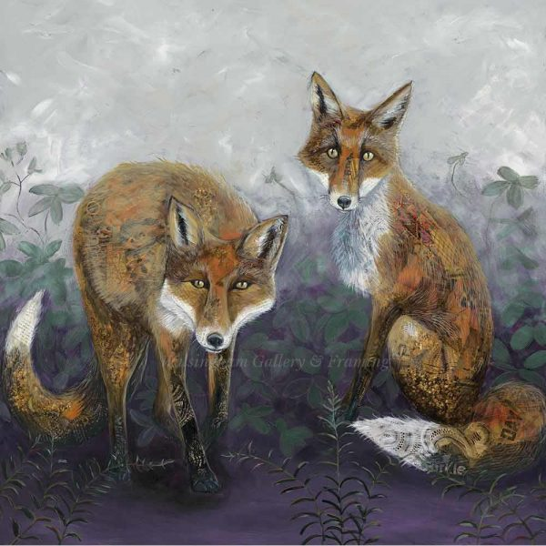 Limited edition print 'Foxtails & Brambles' by Nicola Hart