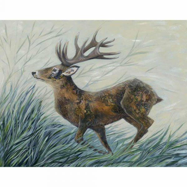 Limited edition print 'Tattooed Hart' by Nicola Hart