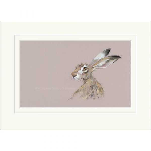 Mounted limited edition print 'Hermione' by Nicky Litchfield