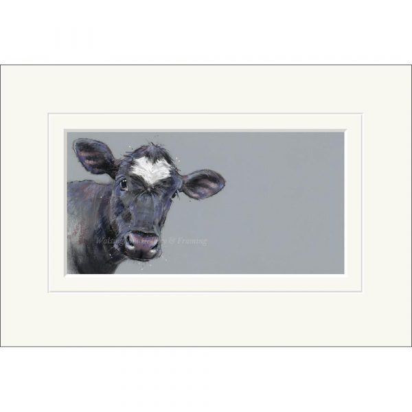 Mounted limited edition print 'Valentine' by Nicky Litchfield
