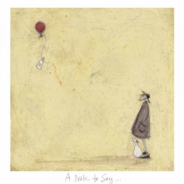 Limited edition print 'A Note to Say ...' by Sam Toft