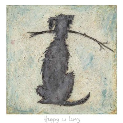 Limited edition print 'Happy as Larry' by Sam Toft