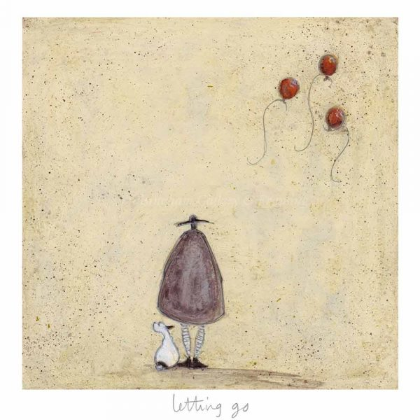 Limited edition print 'Letting Go' by Sam Toft