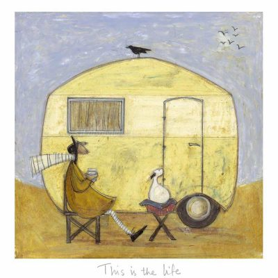 Limited edition print 'This is the Life' by Sam Toft