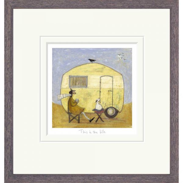 Framed limited edition print 'This is the Life' by Sam Toft